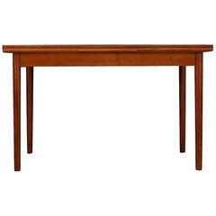 Brown Table Teak Danish Design 1960s Classic
