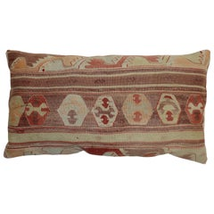 Brown Terracotta Large Kilim Turkish Floor Pillow