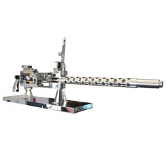 Browning 30 Caliber Machine Gun Training Model