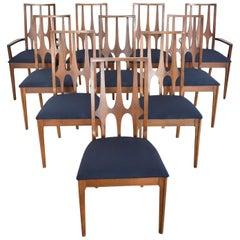 Broyhill Brasilia Dining Chairs Original Set of 10 Mid-Century Modern, 1962-1970