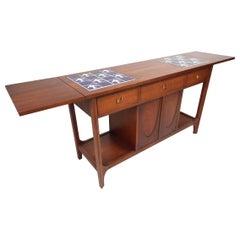 Broyhill Brasilia Drop-Leaf Console Table