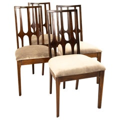 Broyhill Brasilia Mid Century Dining Chairs - Set of 4