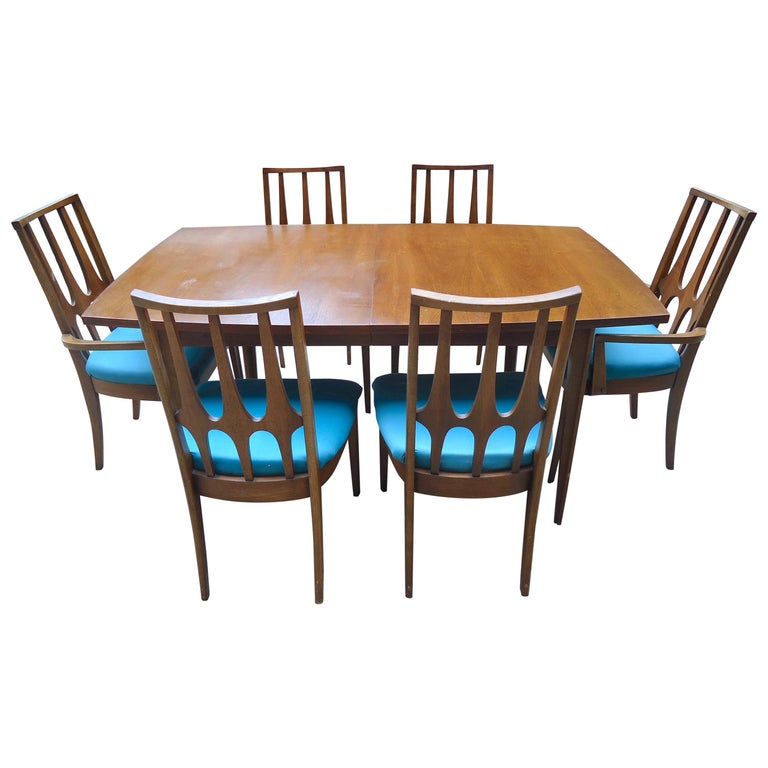 Broyhill Midcentury Dining Set For Sale At 1stdibs