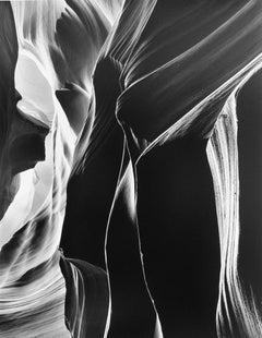 Bruce Barnbaum. Slit, Antelope Canyon, Arizona, 1980