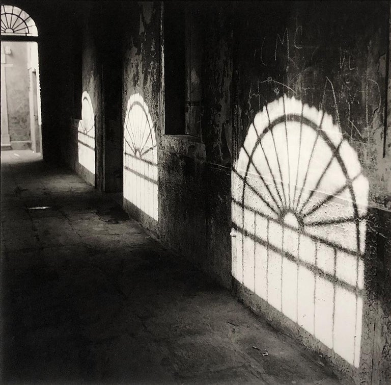 Bruce Cratsley Black and White Photograph - Venice Arches