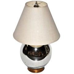 Bruce Eicher Mercury Glass Table Lamp