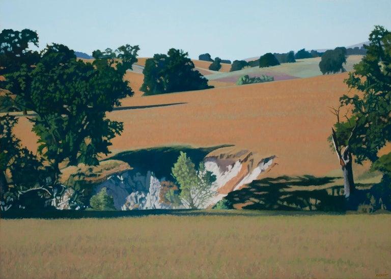 Bruce Everett Landscape Painting - Harris Creek