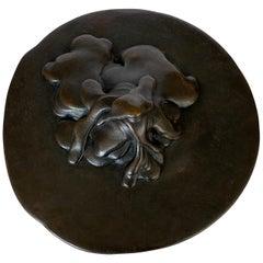 Bruce Fier Bronze Sculpture, Mass Movement #5