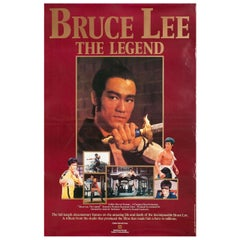 Bruce Lee, the Legend 1984 British One Sheet Film Poster