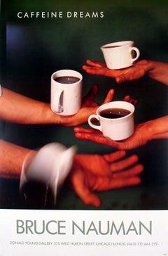1987 After Bruce Nauman 'Caffeine Dreams' Pop Art Brown USA Offset Lithograph