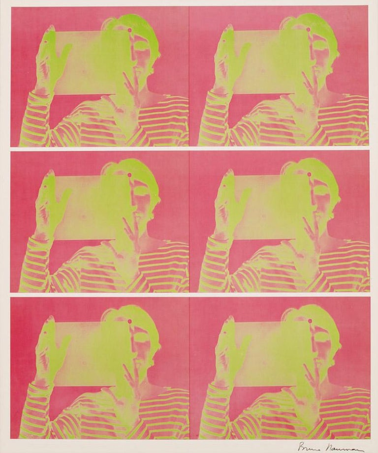 """""""Bruce Nauman: Holograms, Videotapes, and Other Works""""), Leo Castelli - Print by Bruce Nauman"""