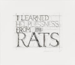 I Learned Helplessness from Rats
