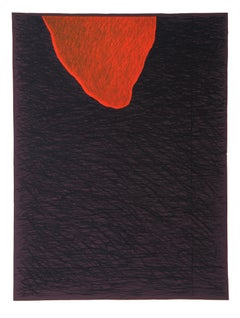 Abstract Lithograph by Bruce Porter