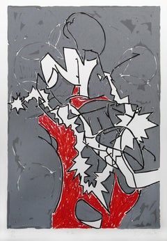 Bayard Series #2, Abstract Serigraph by Bruce Porter
