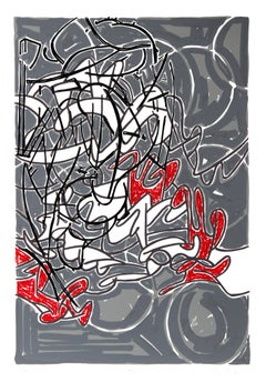 Bayard Series #7, Abstract Serigraph by Bruce Porter