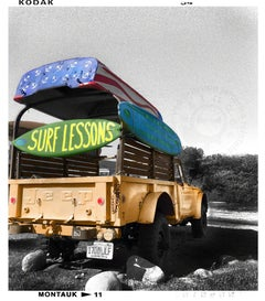 Montauk Surf Lessons, Photograph, Archival Ink Jet