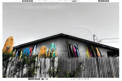 Montauk Surf Shack, Photograph, Archival Ink Jet