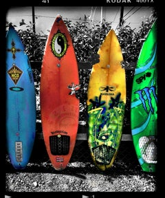 Surfboards, Photograph, Archival Ink Jet
