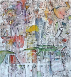 Innervisions - large original painting