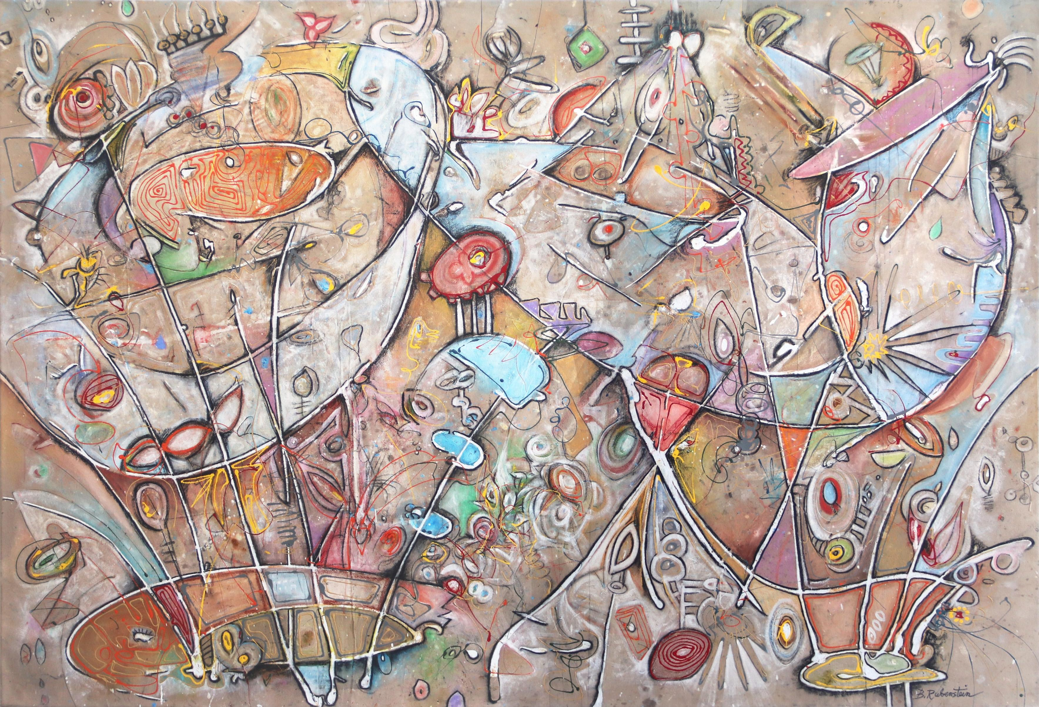 Jason and The Argonauts- large scale original artwork