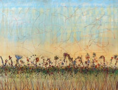 Wildflowers Provence - Large Scale Original Artwork