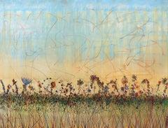 Wildflowers Provence - Large Scale Original Artwork