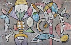 Still Life - original large cubist painting