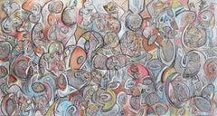 Turbulent Tranquility - large scale original artwork
