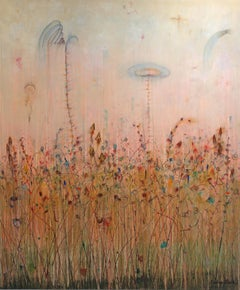 Weeds & Reeds - Large-Scale Original Landscape Artwork - Ready to Hang