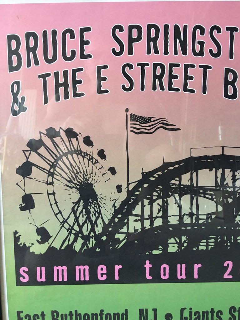 Modern Bruce Springsteen Summer Tour 2003 Poster For Sale