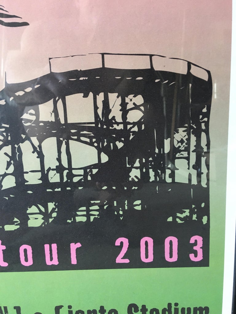American Bruce Springsteen Summer Tour 2003 Poster For Sale