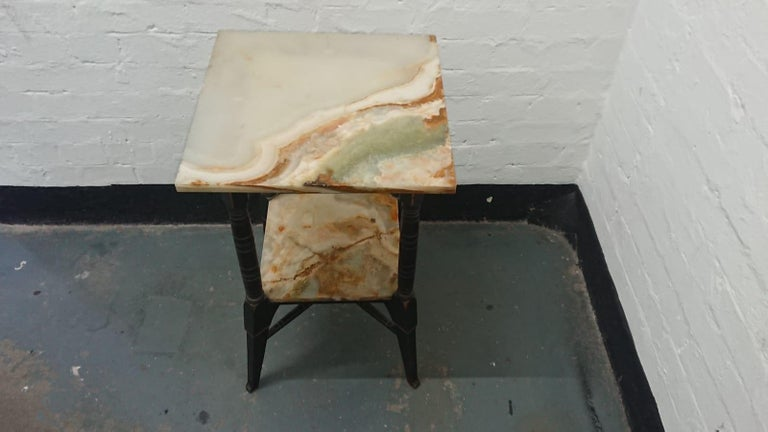 English Bruce Talbert, Style of, Probably by Gillows, an Aesthetic Movement Side Table For Sale