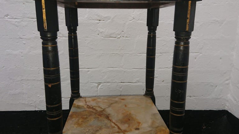 Bruce Talbert, Style of, Probably by Gillows, an Aesthetic Movement Side Table In Good Condition For Sale In London, GB