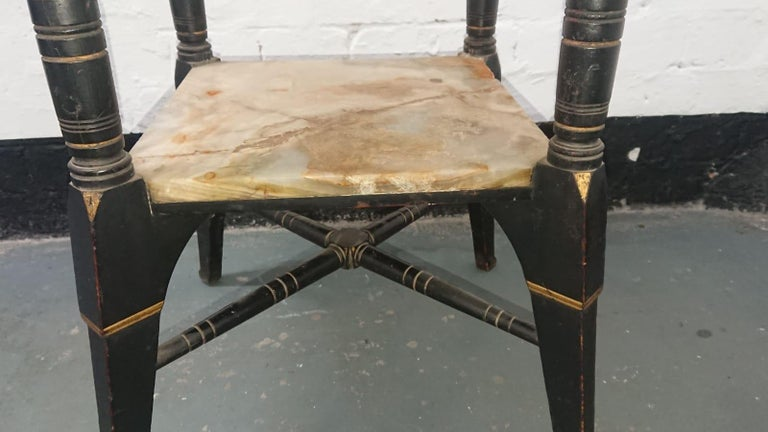 Late 19th Century Bruce Talbert, Style of, Probably by Gillows, an Aesthetic Movement Side Table For Sale