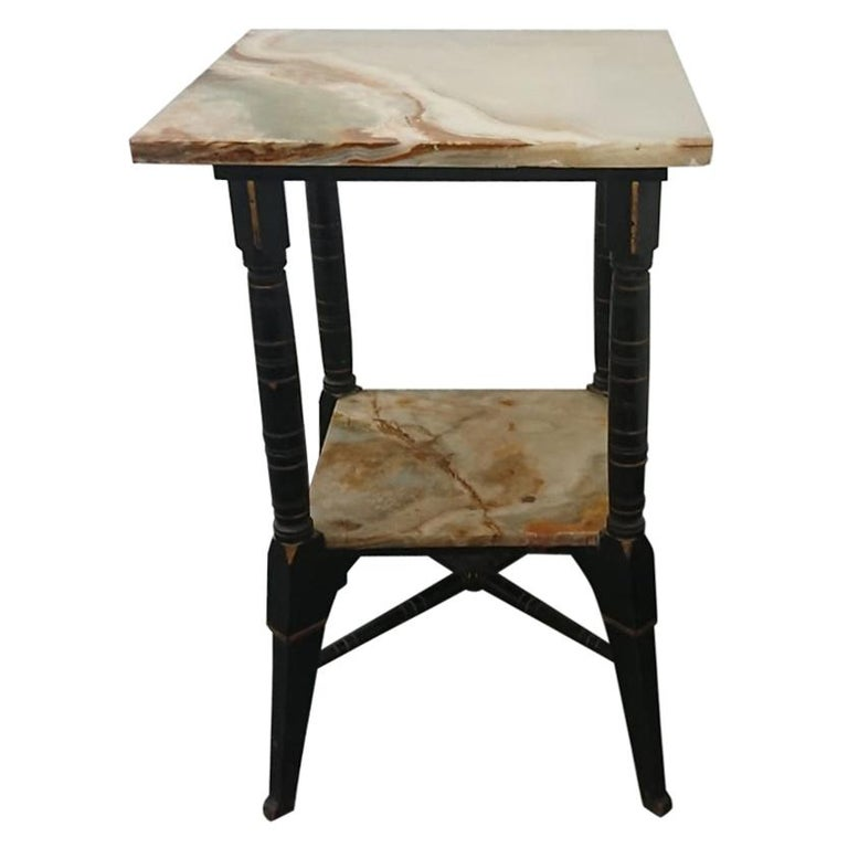 Bruce Talbert, Style of, Probably by Gillows, an Aesthetic Movement Side Table For Sale