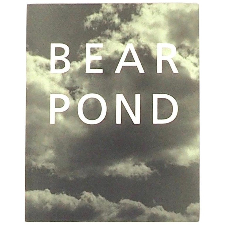 "Bruce Weber ""Bear pond"" First Edition 1990 For Sale"