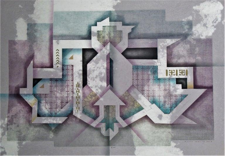 Bruce Weinberg Abstract Print - Aero