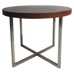 Brueton Wood and Metal End Table