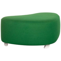 Brühl & Sippold Mosspink Stool Green Ottoman