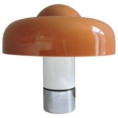 'Brumbury' Lamp Designed by Luigi Massoni for Harvey Guzzini, 1969
