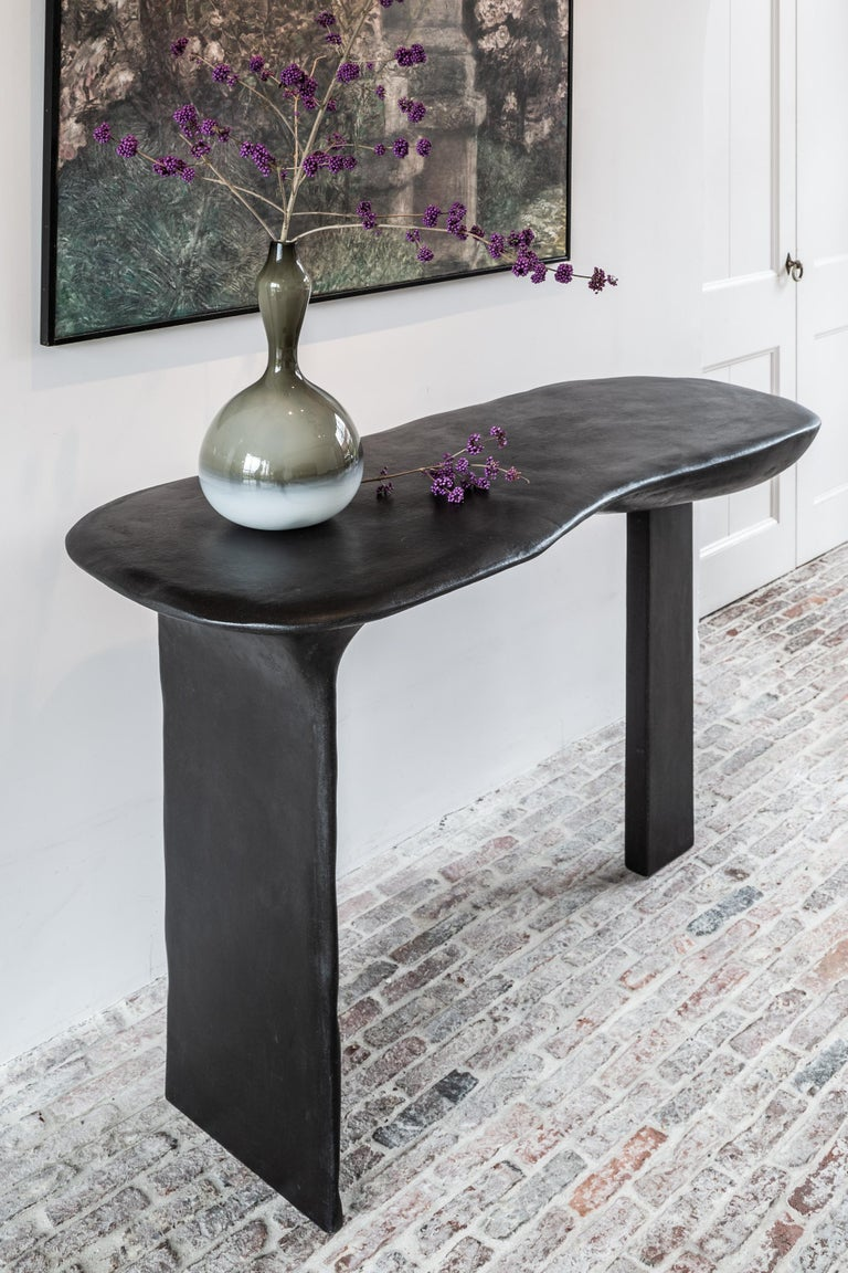 Modern Brunate Console Table by Studio Emblématique For Sale