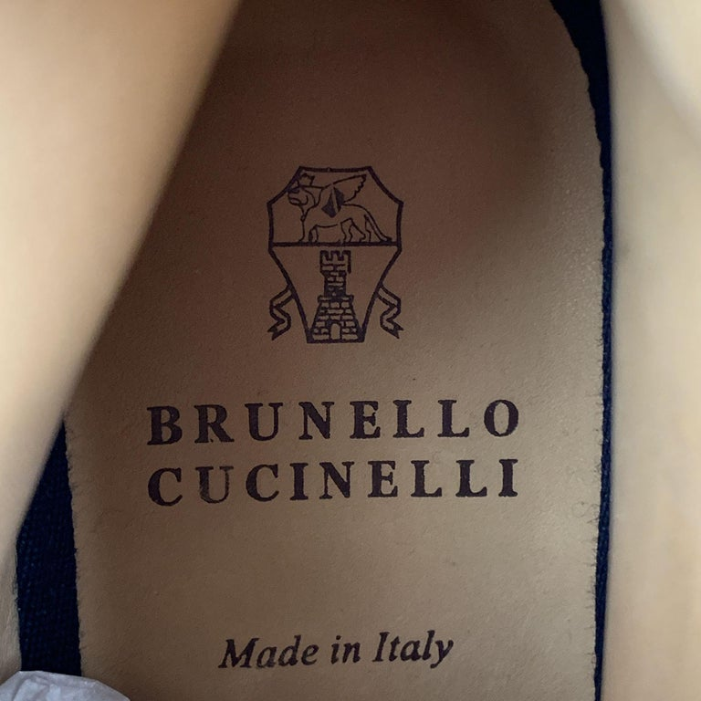 BRUNELLO CUCINELLI Men's Size 7 / EU 40 Brown Perforated Leather Lace Up Boots For Sale 4