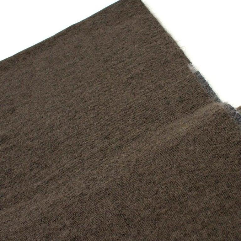 Women's Brunello Cucinelli Mohair, Alpaca & Cashmere XL Striped Shawl For Sale