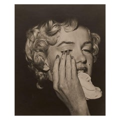 Marilyn Monroe by Bruno Bernard, 'Marilyn in Tears', Portrait, Black and White