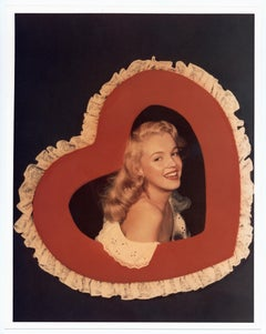 Marilyn Monroe in a Heart Frame, circa 1947