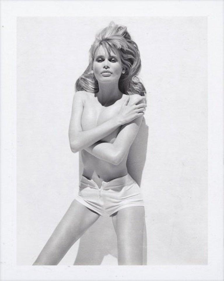 Bruno Bisang Nude Photograph - CLAUDIA SCHIFFER, Paris 1997 (P_205)
