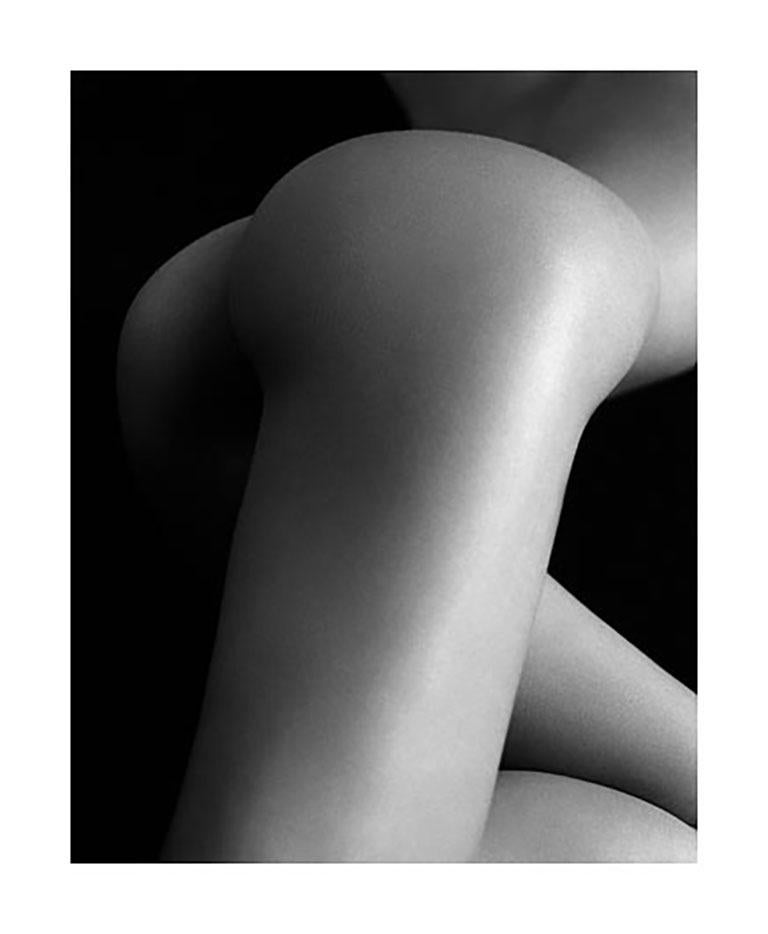 Exposure, Dajana, Milan - Black Nude Photograph by Bruno Bisang
