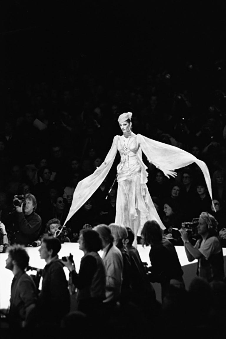 Haute Couture - Emanuel Ungaro - Photograph by Bruno Bisang