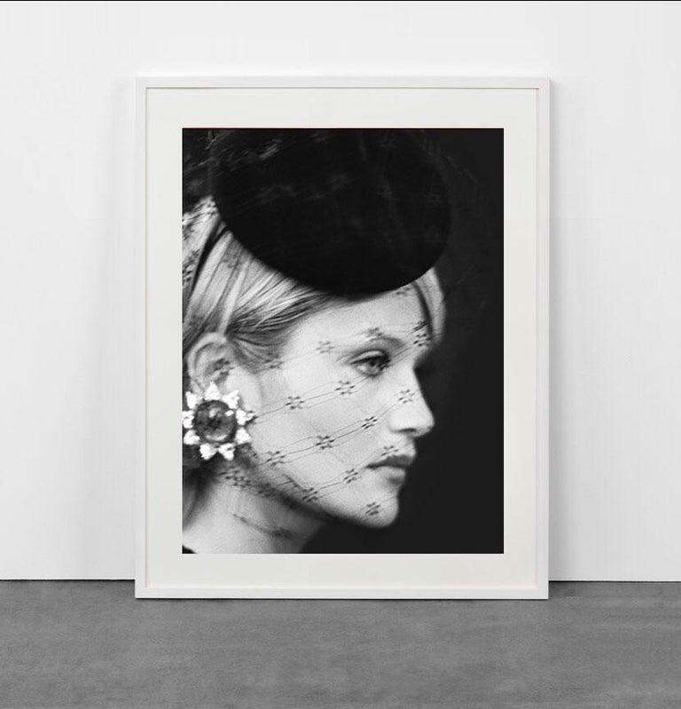 Haute Couture - Helena Christensen at Balmain  - Photograph by Bruno Bisang