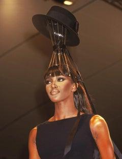 Naomi Campbell at Chanel